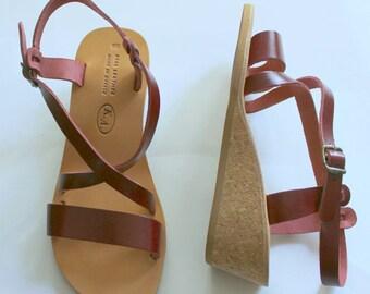 HALF PRICE !Bohemian wedge sandals! size 37/38/40