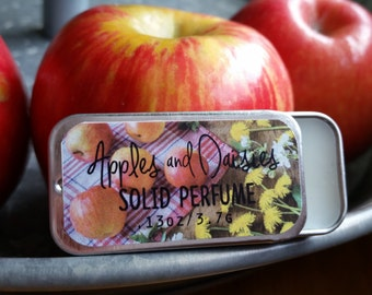 Perfume, Fragrance, Apples & Daisies Solid Perfume by Sweetfire Road