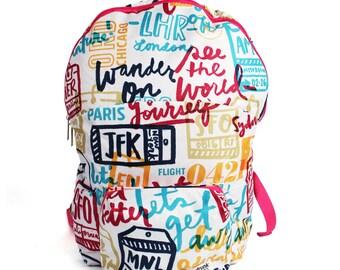 Wander On Foldable Backpack