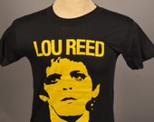 Reserved for Bear Cat True Vintage Lou Reed T Shirt - 70s 80s ROCK & ROLL ANIMAL Rare Concert T