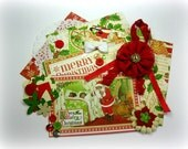 Graphic 45 Twas The Night Before Christmas Inspiration Kit Embellishment Kit for Scrapbook Layouts Cards Mini Albums and Paper Crafts 1
