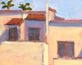 Houses in Hillcrest-  San Diego Painting