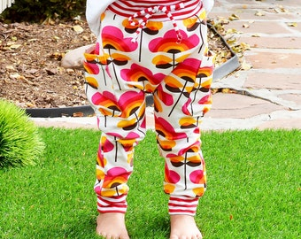 Kids pants sewing pattern // side pockets // pdf download // Preemie to 5-6 // #94