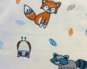 Forest Foxes - FLANNEL - BTY