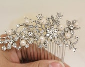 Wedding hair comb pearl,Wedding hair accessories,Wedding hair jewelry,Wedding decorative combs,Bridal hair comb pearl,Wedding comb pearl