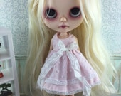 Blythe Dress - Baby Pink Spot