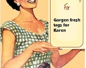 60 Mason Jar tags for Karen