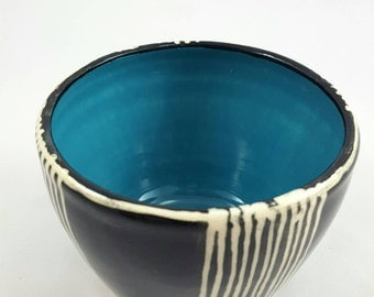 Hand made painted bowl