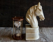 Vintage Horse Head Bookend