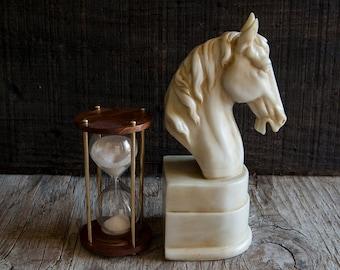 Vintage Horse Head Bookend