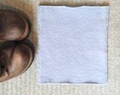 Cashmere Cowl Buff LIGHT BLUE Gaiter Felted Cashmere Neck Warmer Neckwarmer Buff Scarf Unsiex Eco Gift Under 50 WormeWoole