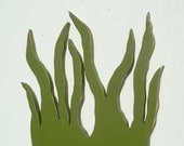 seaweed wood nautical art