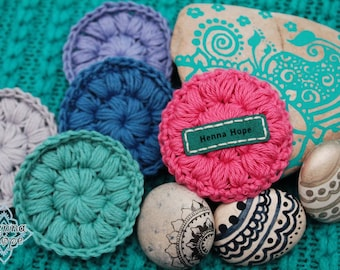 4 Pack of SCRUBBIES: Good-ness for your skin