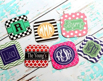 Custom Personalized square Coaster Set of 4
