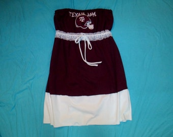 Texas A&M Game Day Dress - Tailgate in Style