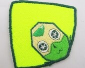 Little Peridot Machine embroidered Iron on or Sew on Patch