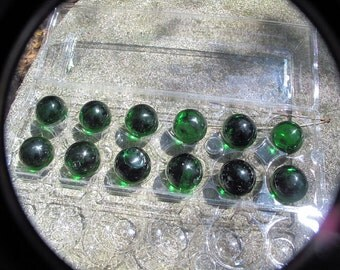 12 Glass Spheres, Crystal Balls, Meditation Tools-WHOLESALE