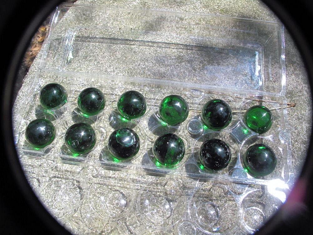 Glass spheres crystal balls meditation tools wholesale