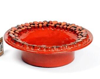 Ceramano Bowl Ceramic Design Ceralux Studio Style Space Age Pottery Germany 60s