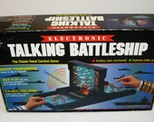 Electronic Talking Battleship Game Naval Combat Classic Milton Bradley 1989 - Complete & Working