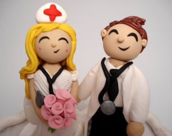 nurse wedding cake toppers cake topper etsy 17951