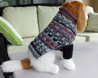 Dog Sweater SALE with sleeves Medium 13  inches long