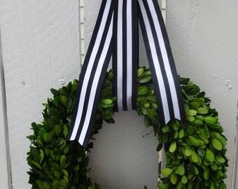 "Boxwood Wreath  Preserved Boxwood Wreath  Round Boxwood  12"" Boxwood Wreath Elegant Wreath  Preserved Wreath  Boxwood Wreath"