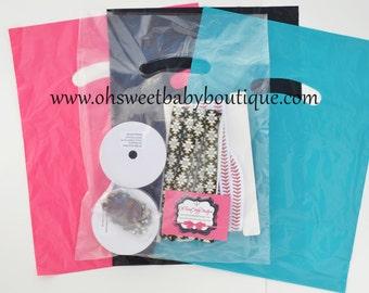 Plastic Merchandise Bags 9x12 Qty 50