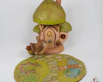 Whisper of Spring Mushroom House