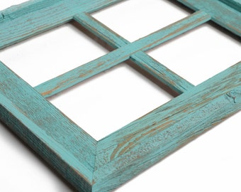 5x7 collage frame wide rustic barn window picture frame wedding gift rustic picture frame - Window Collage Frame
