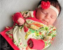 Lullaby  Line Kimono Kid: Baby Kimono Top Sewing Pattern, Kimono Shirt Sewing Pattern