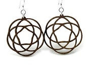Keltic Knots - Laser Cut Wood Earring