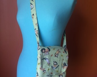 One strap messenger bag Where The Wild Things Are