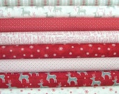 JOL Bundle of 8 by Wenche Wolff Hatling for Moda