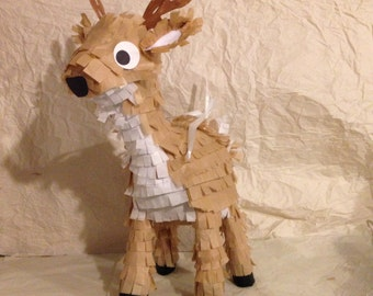 Reindeer piñata /deer pinata Large