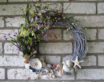 Summer Shell Wreath