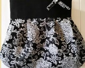 Black And White Classic Cross Body Bag With Style