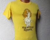 70's Vintage Mustang Ranch Lady Godiva T Shirt sm/med
