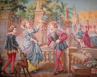 Renaissance Tapestry Made in Belgium