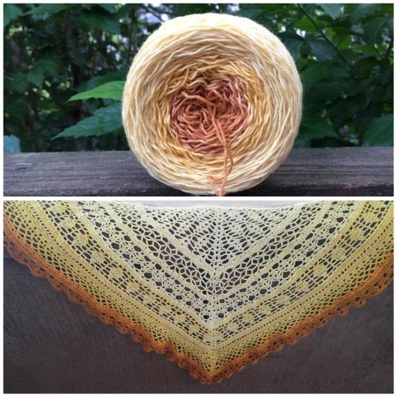 900 Yard Gradient Yarn, SALE, Merino, Hand Dyed Sock Yarn, Hand Dyed, Merino, Cashmere