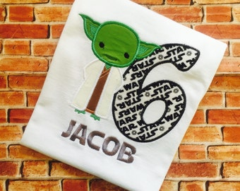 Star Wars Inspired Cutie Birthday Shirt