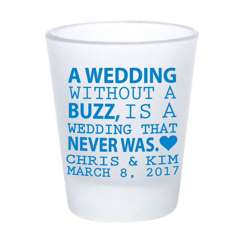 wedding favors shot glasses personalized frosted shot glasses
