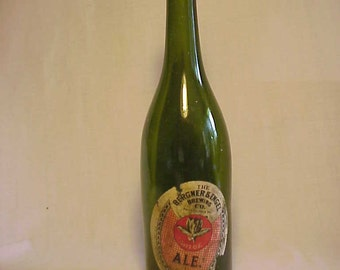 c1915 The Bergner & Engel Brewing Co. Philadelphia, PA. Ale, 24 ounce Pre Prohibition Beer Bottle with Paper Label