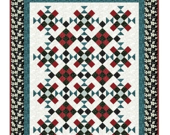 Quilt Pattern -  Lofty Dreams - Throw - Lap Quilt - Confident Beginner - PDF INSTANT DOWNLOAD