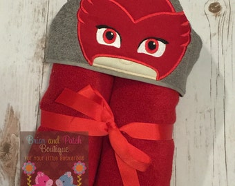 Owlette Hooded Towel