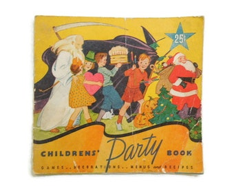 Staley's 1935 Children's Party Book, Fabulous Illustrations