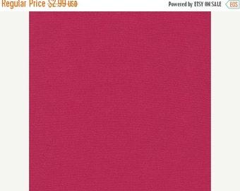 Summer sale Sangria, Kona Cotton, Robert Kaufman Fabrics, 1/2 Yard