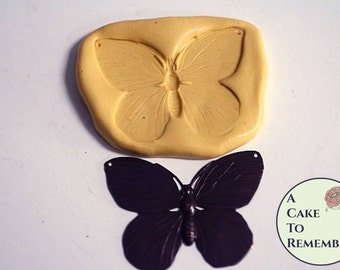 Butterfly mold for cake decorating, cupcake decorating, silicone mould, polymer clay, resin. M1095