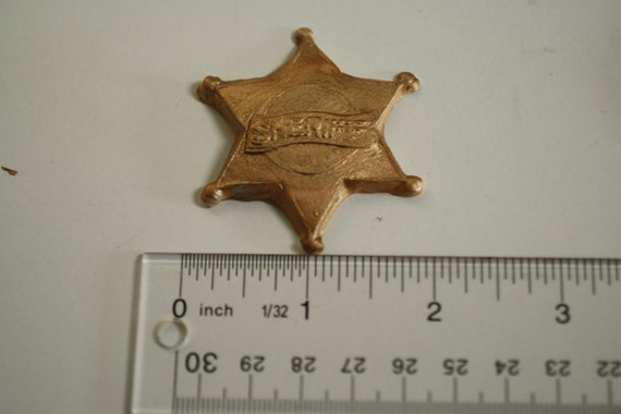 Basket Weaving Supplies Richmond Va : Sheriff s badge mold for cake decorating or polymer clay