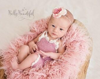 Crochet Romper Newborn Photo Prop Pattern ~ Baby Romper Crochet Pattern ~ Crochet Romper Baby Prop Pattern ~ Newborn Baby Romper Crochet